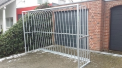 Cages de but de football en acier, code 407-antivandalism
