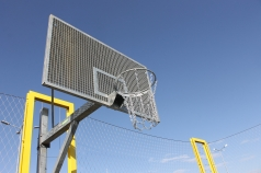 Steel Mesh Basketball Backboard,1800X1050 mm,code 171-Z