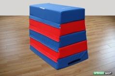 Trapeze Vaulting Boxes, 5 parts, code 219-Foam