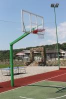 Basketball-Zielbrett 180 x 105 cm, aus Acrylglas, Artikelnr. 112