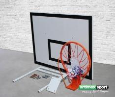 Artimex Sport Basketball mit Wandmontagegestell,model Home Fun,code 509