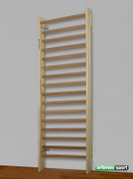 Rehabilitation Wall bars model Birmingham,2.3x0.85  m,16 rungs,code 221-Reha
