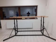 Parallel Bars metal, 250 cm, code 77799