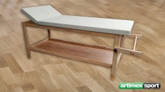 Stationäre Holz-Massageliege, Holz, 2000x850x800 mm,  Artikelnr. 220-L
