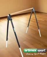 Hordozható balett korlát, 137 cm, 113-Mobil kód