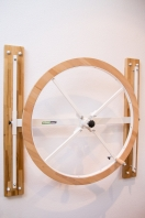 Shoulder Wheel in Varnished Wood, code 253-wheel