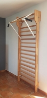 Pull up bars with side handles, for Wall  bars, code 260