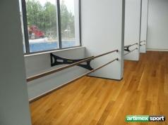 Haltestange / Ballettstange doppelt, 3.2 m, Code 113-Premium