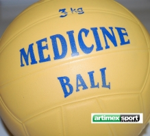 Medizinbälle WV – 3 kg,artikelnr.00701