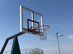 Basketball-Zielbrett 120 x 90 cm, aus Acrylglas, Artikelnr. 110
