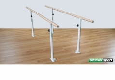 Height-adjustable rehabilitation parallel bars,Code 299