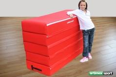 Klassischer Sprungkasten aus Schaumstoff,156x58x100 cm,Artikelnummer  213-5