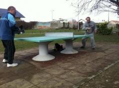 Sto za stoni tenis betonski sifra 310-beton/okrugle noge