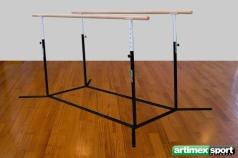 Barres parallèles pour Ballet ou gymnastique, une longueur de 250 cm, Ref.1800