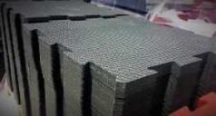 Rubber blocks of high density for fitness floors, code 776644