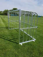 Fully Welded Mini Leisure Goal,180x120 cm,code 406-antivandalism