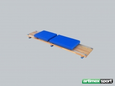 Loop rehabilitatie plank,Cod 886