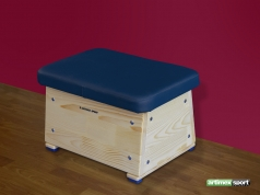 Small vaulting box, 60x40x30 cm, cod 241