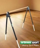 Freistehende Balettstange Einfach, 137 cm, Artikelnr. 113-Mobil