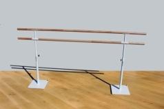 Sbarra doble mobile per la danza, 2.5 m, codice 113-2M