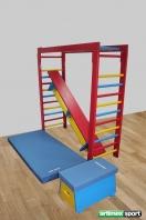 Gymnastic set for chlidren,code 250 Turn