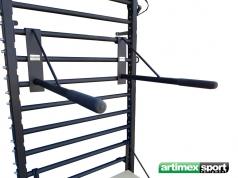 Barre à dips conçue pour être montée sur l'espalier ,Ref 270/FI