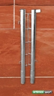 Tennispfosten Stahl ,76 mm,verzinkt,Artikelnr 303-Verzinkt
