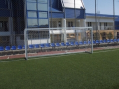 Fudbalski gol kvadratni profil 5x2m aluminijum sifra 417