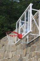 Basketball-Zielbrett 120 x 90 cm, aus Acrylglas,Artikelnr. 110