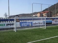 Fudbalski gol kvadratni profil 5x2m (celik) kod 418