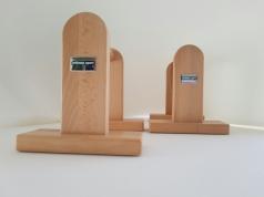 Parallettes en bois de hêtre, 1 paire, référence 248/Parallettes