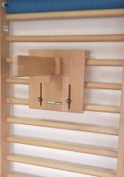 Attrezzo in legno per il trattamento della scoliosi, codice 45378