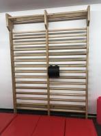Πολύζυγο δύο τμημάτων από ξύλο δρυ,2,4×1.8μ.,κωδικός 216-2E
