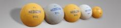 Medicine Ball, από καουτσούκ 1kg, διαμ. 12,5cm Κωδ. 00669