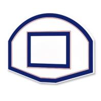 Panneau de basket demi lune 90 x 120 cm ,ref 169-C