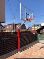 Basketball Anlage verzinkt, 100x100 mm, Artikelnr. 105-B-Profi