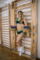 Dip and abdominal workout stands in Oakwood, code 270-3-Oak