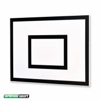 Basketball-Zielbrett 120 x 90 cm, aus GFK, ungebohrt,Artikelnr. 160
