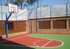 Basketball System Boston, in Ground sleeve, 100x100 mm, code 105-A