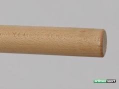 Balett rúd bükkfából, 2,5 m hosszú, 40 mm átmérőjü,cod 1130