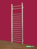 Gymnastic wall bar(Swedish Ladder),model Liverpool, 270x85 cm,16 rungs.Cod 216