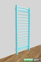 Stall Bars colored,7'-6' High, Pine, code 221-colors