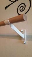 Simple wall bracket for ballet barres, code 113-simple-brackets