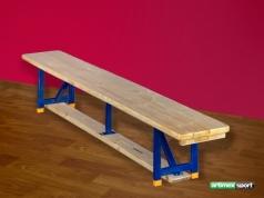 Banc suédois Gymnastique, pieds acier ,2 m,Ref. 202-M
