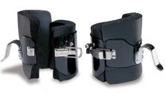 Cavigliere antigravitazionali in acciaio, colore: Nero,codice 234