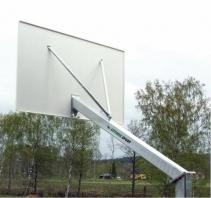Basketballanlage 120x120 mm,Artikelnr.105-D Verzinkt