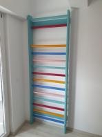 Rebriny Color Artimex Sport, 14 bukové priečky, 2.3 x 0.85 m, kód 221-multicolor
