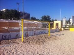 Strand voetbaldoel - 2 stuks, 5x2 m,code 403 -a