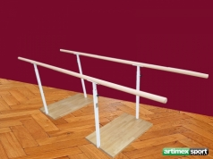 Height-adjustable rehabilitation parallel bars, Code 299-M