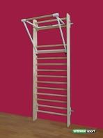 Sprossenwand mit Klimmzugbügel,model Kiehl,artikelnr.259